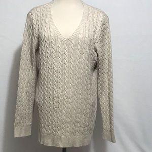 Croft & Barrow 100% cotton sweater